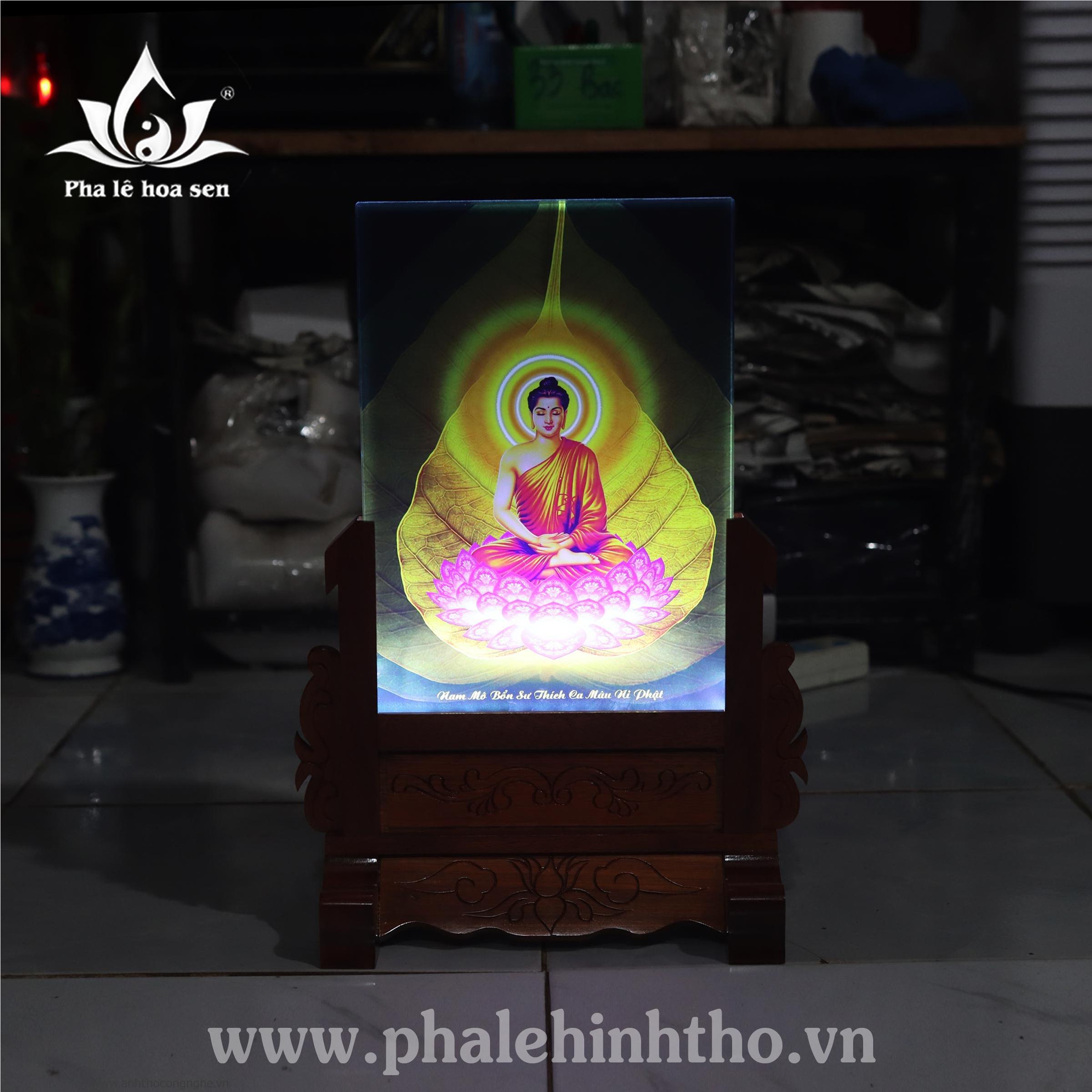 Phật Bổn Sư in 25x35cm
