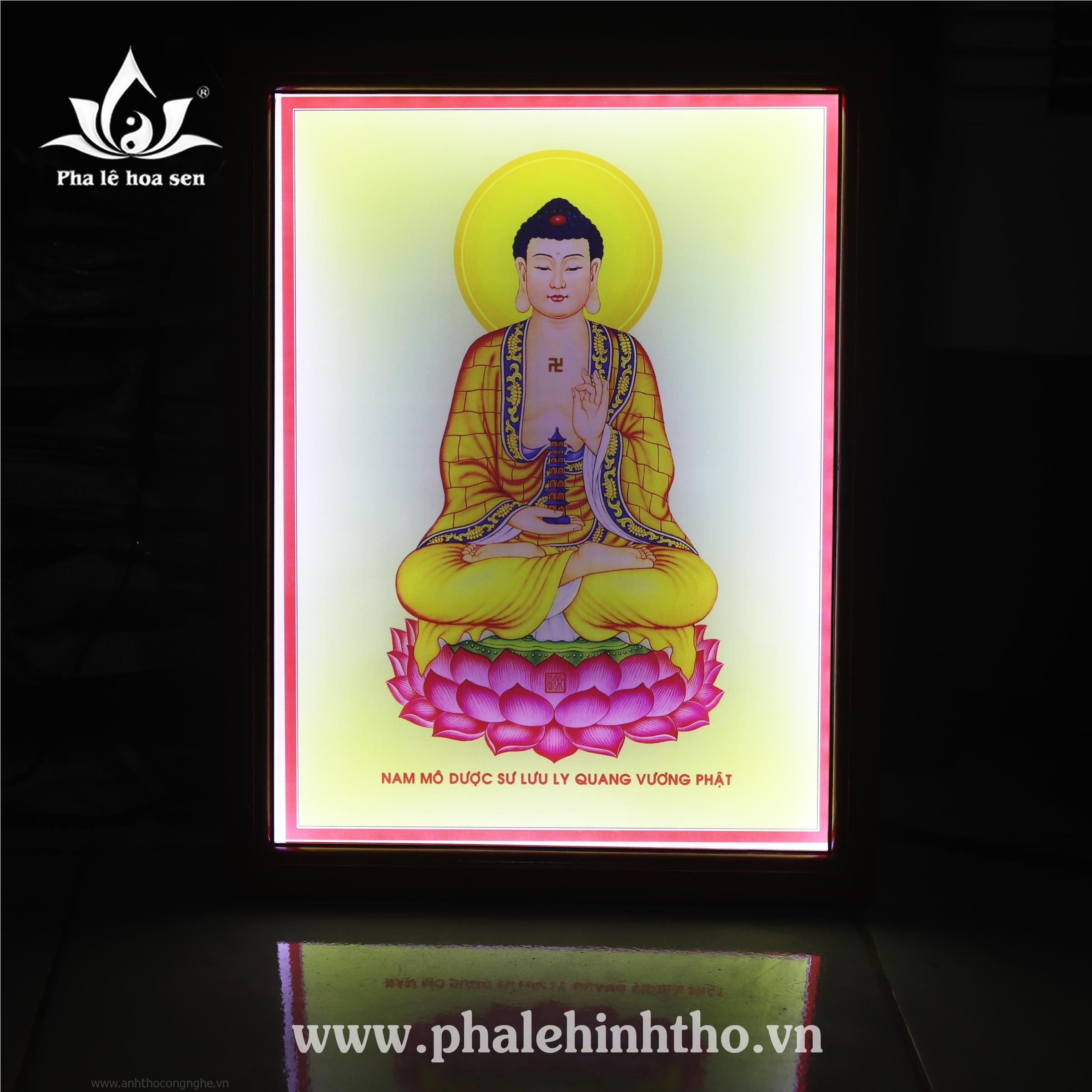 Phật Dược Sư in 30x40cm